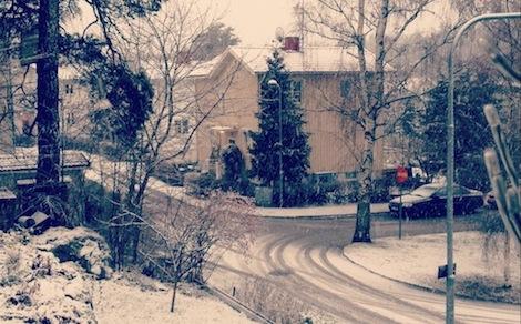Snösvängen