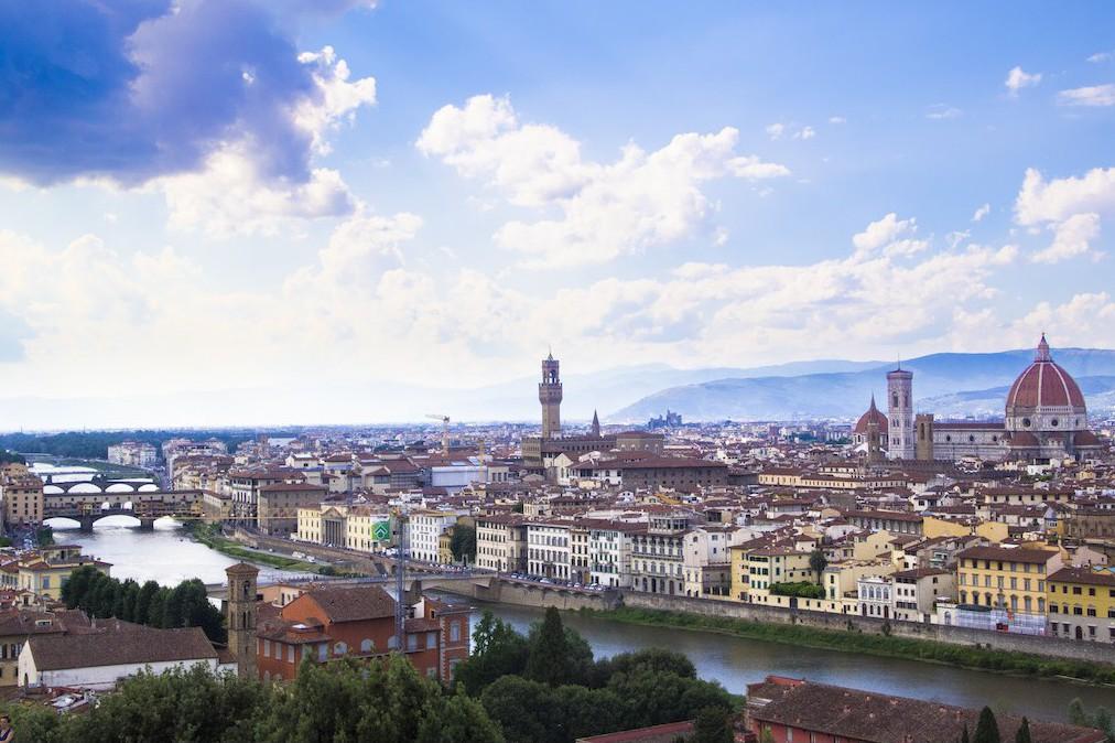 Toscana från ovan