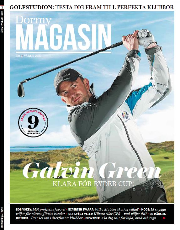 Stora Ord gör tidning om golfutrustning åt Dormy