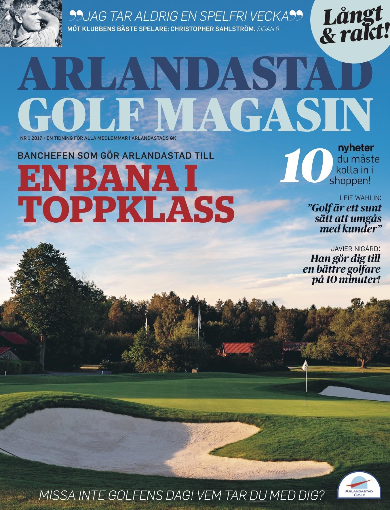 Stora Ord gör Arlandastad Golfs nya klubbtidning