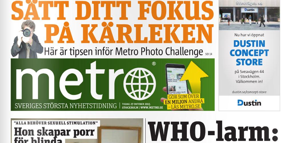 Metro – min bästa idé