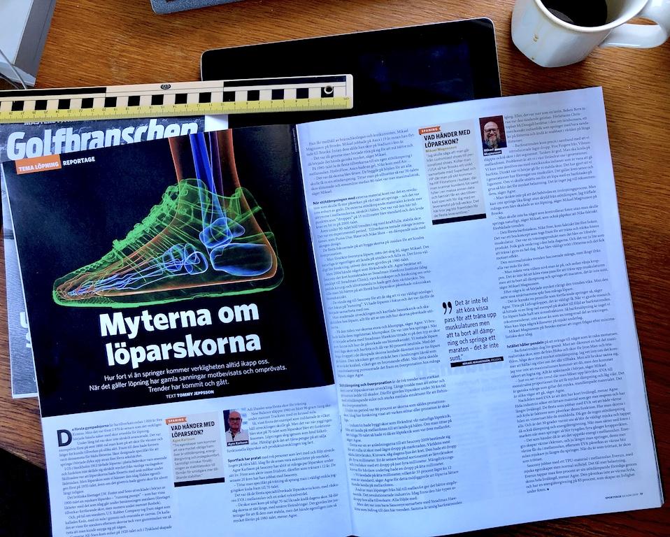 Myten om löparskorna – artikel om löparskons historia för Sportfack