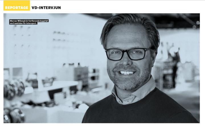 »Vi kommer att reda ut detta« – intervju med Intersports VD Marcus Fribergh för Sportfack