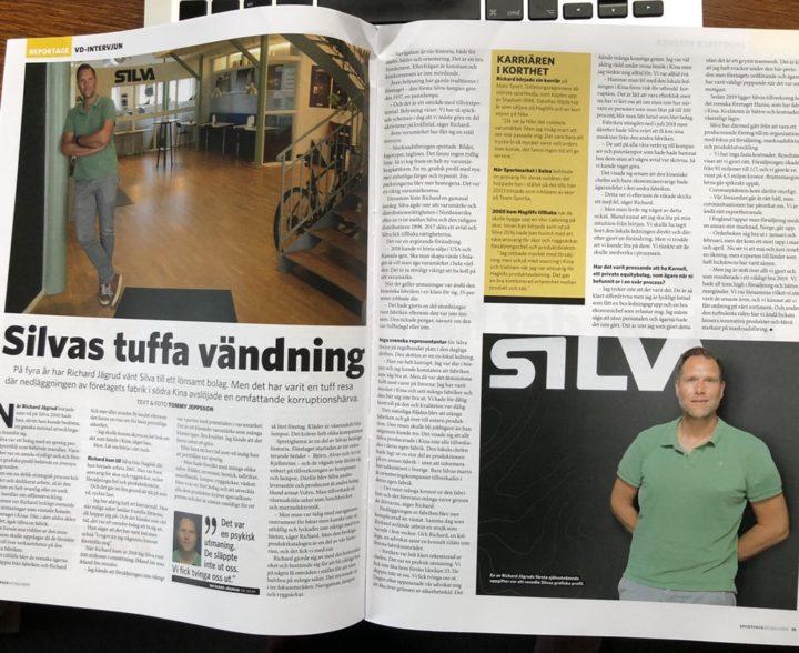 Tuff VD vände Silva – intervju med Richard Jägrud för Sportfack