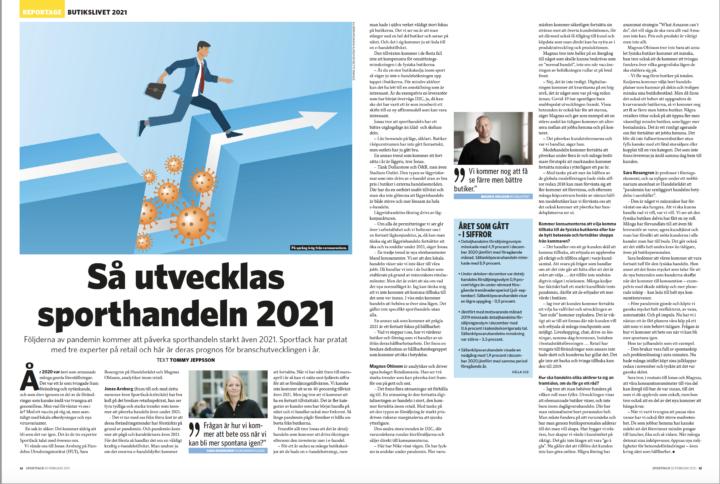 Handelstrenderna i sportbranschen 2021